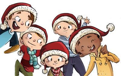 Weihnachtsbaumschlagen für Kinder