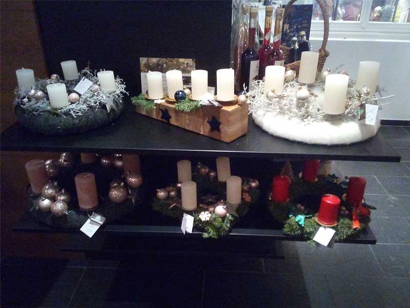 Verkaufsstand beim Weihnachtsmarkt im Romantik Berghotel Astenkrone