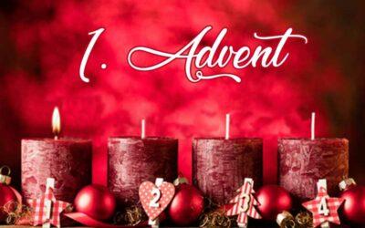 Advent, Advent – ein Lichtlein brennt