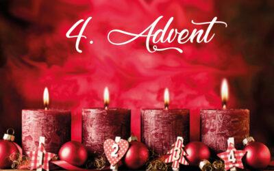 Einen frohen vierten Advent wünschen wir euch – Weihnachtsbaum- und Schnittgrünverkauf an unserem Verkaufsstand
