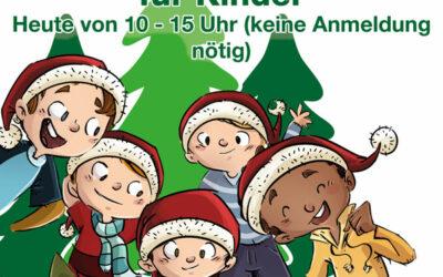 Christbaumschlagen für Kinder und unser Weihnachtsbaum-Verkaufsstand beim Campingplatz in Winterberg