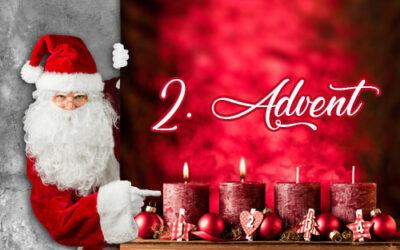 Einen frohen zweiten Advent und einen schönen Nikolaustag – Weihnachtsbaum- und Schnittgrünverkauf an unserem Verkaufsstand