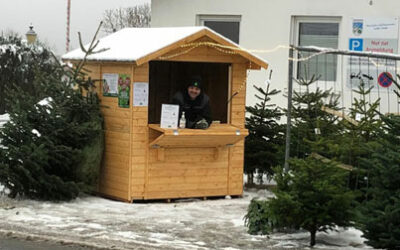 Wir sind trotz Lockdown für euch da! Christbaumverkauf für Heiligabend und die Feiertage